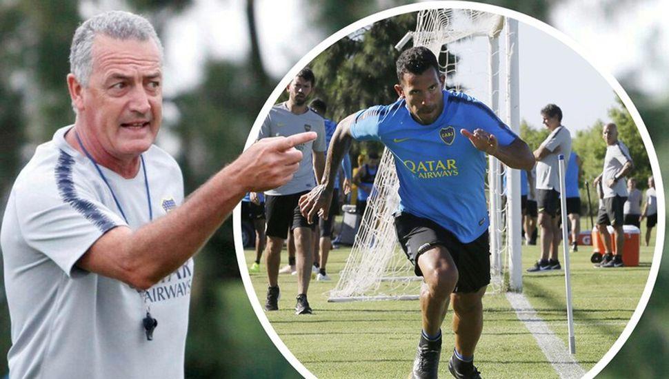 ¿Pondrá Gustavo Alfaro a Carlos Tevez ante River?