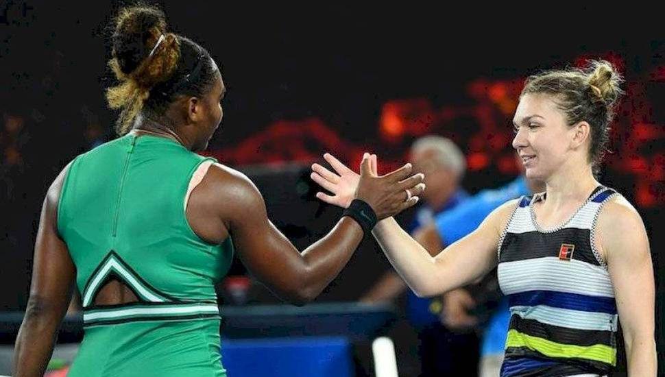 Serena Williams y la rumana Simona Halep (derecha) volverán a encontrarse en una final, esta vez en Wimbledon.