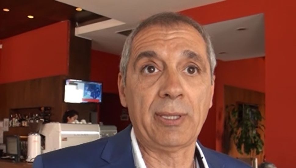 Carlos Miguel Mansur candidato a presidente por la Lista 1.