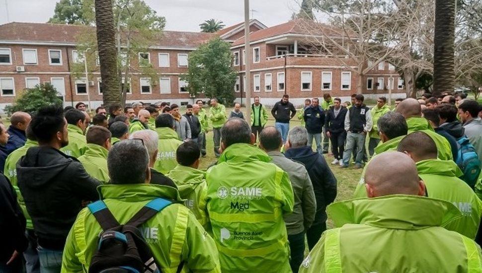 SAME: choferes de Ameghino participaron de una jornada de capacitación