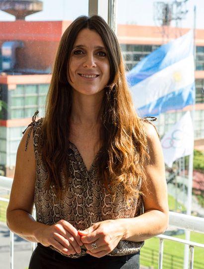 Inés Arrondo, secretaria de Deportes.