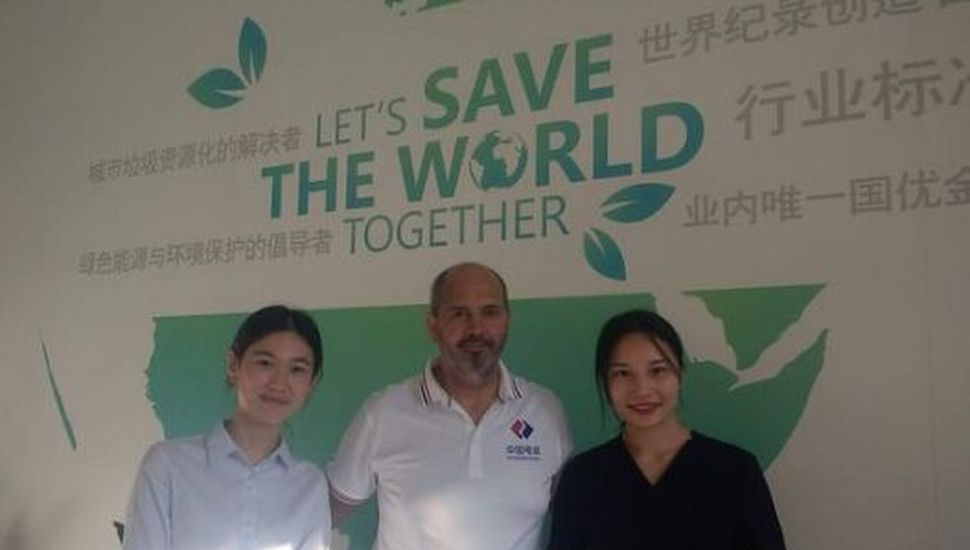 En China, Lincoln participó de un seminario internacional sobre energías renovables