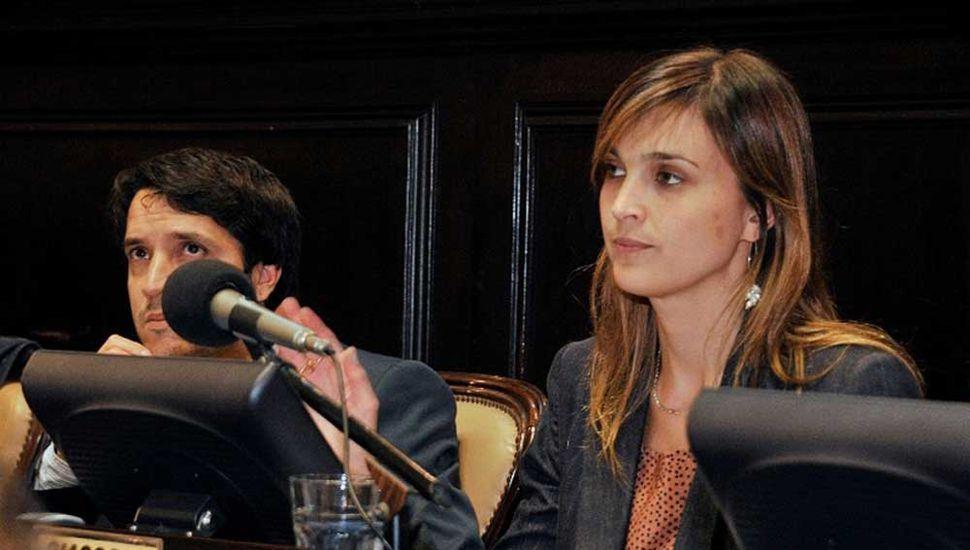 La diputada Rocío Giaccone.