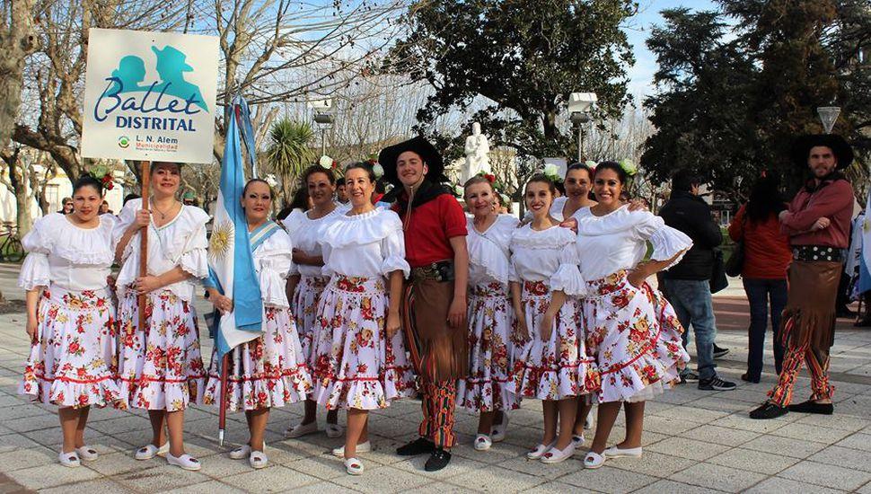 Se llevó a cabo el 2º Encuentro de Danzas del Centenario 2018