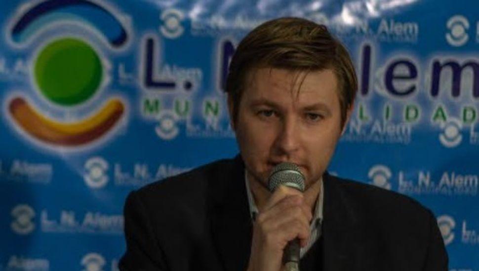 Carlos Ferraris, intendente de L. N. Alem