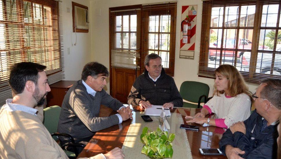 Miguel Bazze visitó Leandro Alem