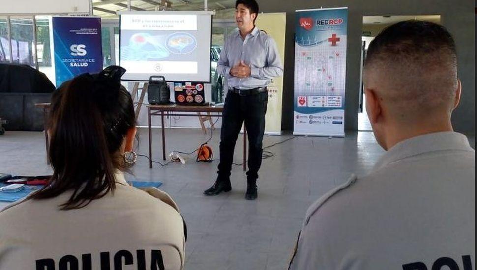La Patrulla Rural de Chacabuco recibió capacitación en RCP