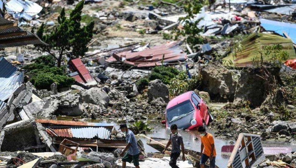 Indonesia: sube a  1.234 la cifra de muertos por el terremoto
