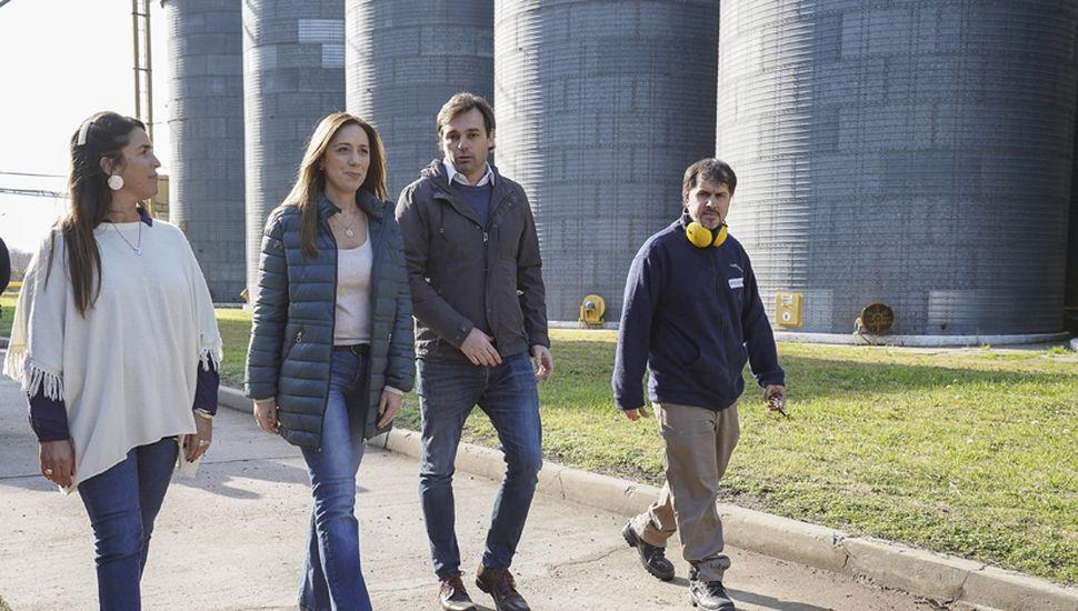 María Eugenia Vidal se mueve por todo el frente de campaña, pero para ser reelecta necesita que Mauricio Macri crezca fuerte en territorio bonaerense.