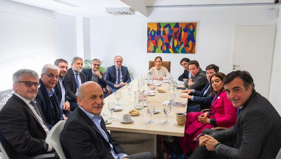 Vidal repasó desafíos pendientes con rectores de universidades bonaerenses