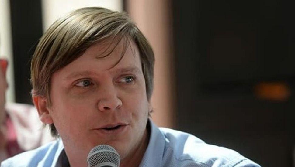Nicolás Scardino, concejal del Bloque Cambiemos.