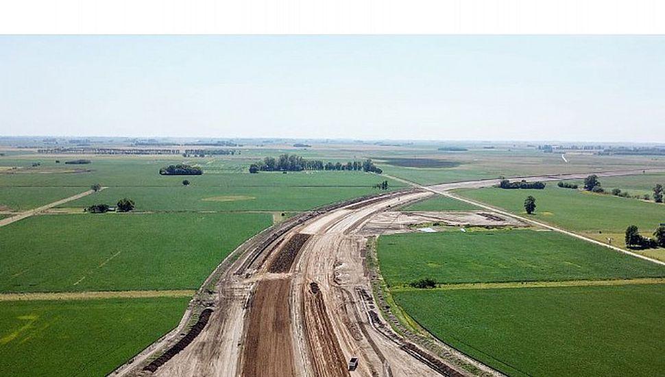 Autopista Ruta 7: por problemas en la UTE  se para la obra de la variante de Chacabuco