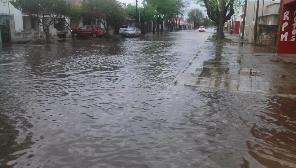 Bragado: llovieron 100 milímetros en tres horas