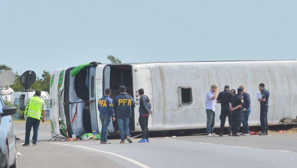 De los 13 heridos internados quedan dos chicos en estado de gravedad