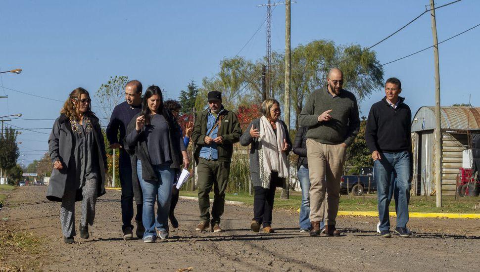 """El equipo de trabajo de """"Pueblos Auténticos"""" visitó La Angelita"""