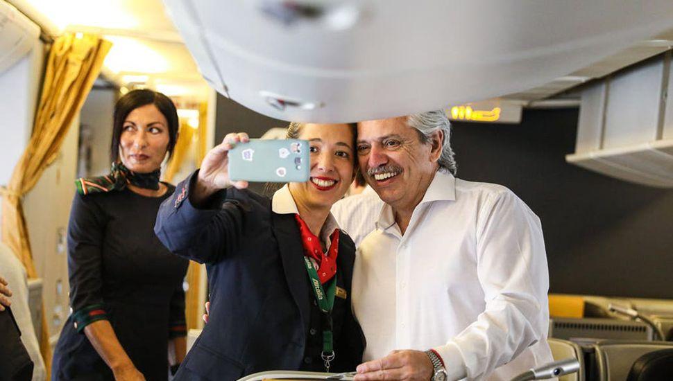 Fernández profundiza el giro de la política exterior