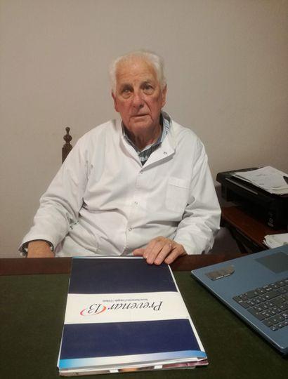 Desde que se instaló en Junín, en 1974, el doctor Domingo Ferraiuolo construyó una importante trayectoria profesional.