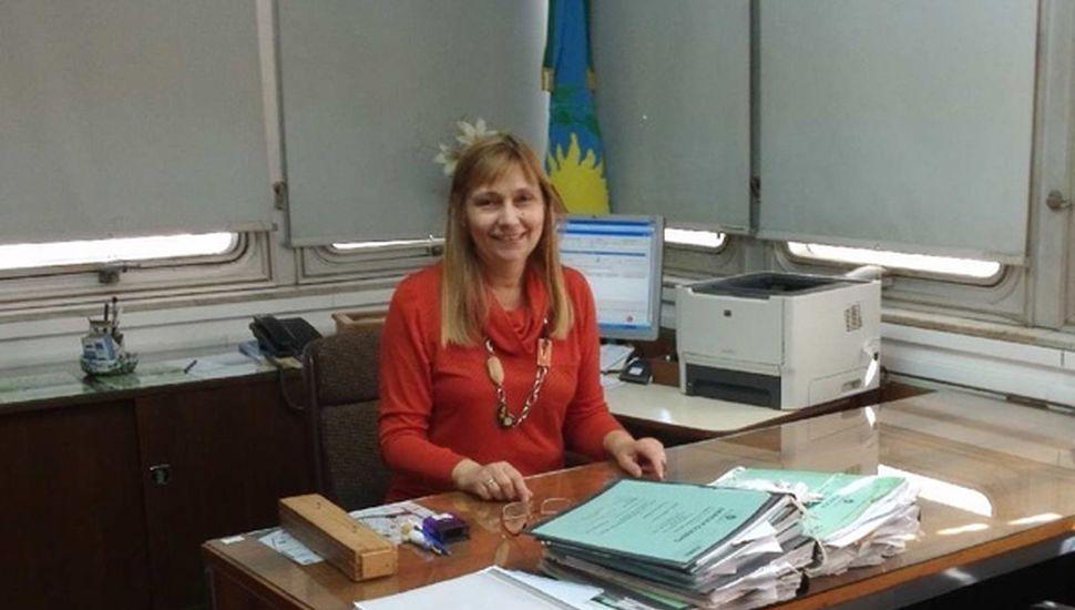 Dra. Laura Panizza, titular del juzgado en lo Civil y Comercial N° 4.