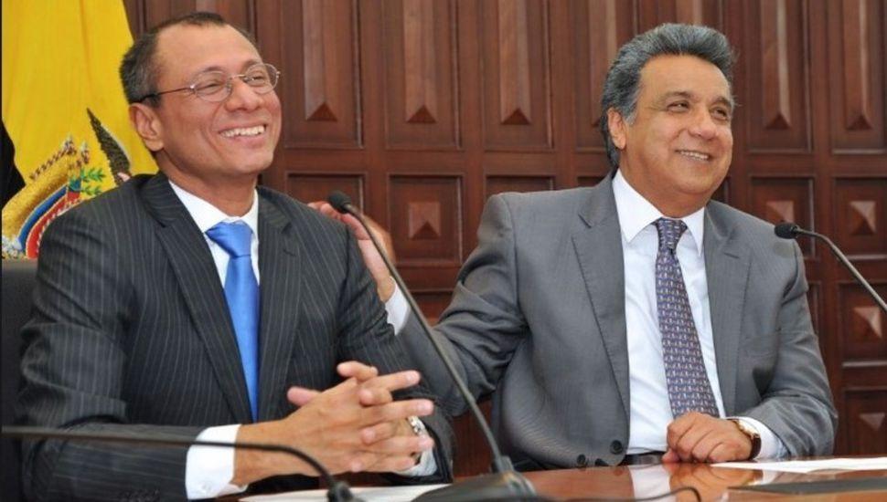 Por criticarlo, el presidente de Ecuador dejó sin funciones a su vice