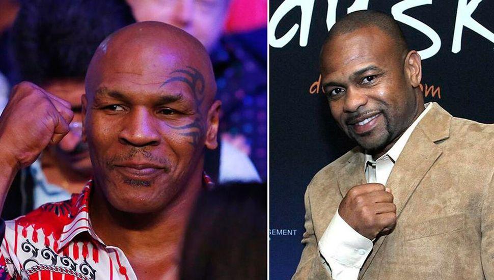 Mike Tyson y Roy Jones.