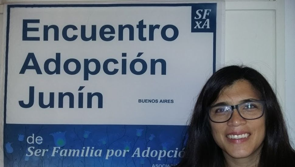 Gabriela Parino, psicóloga, de Encuentro Adopción Junín.