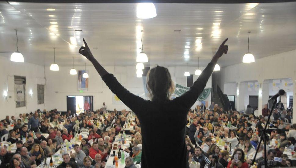 Victoria Muffarotto, precandidata a Intendenta de Junín por Unidad Ciudadana.