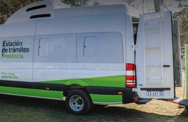 Este miércoles llegará a Ameghino la estación de trámites provinciales