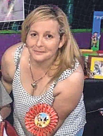 María Fabiana Burgos, la víctima.