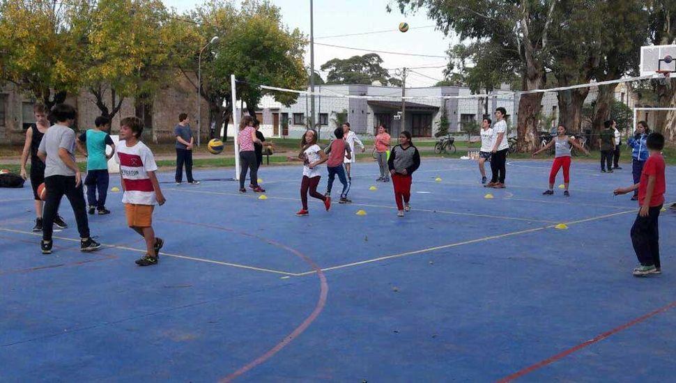 El Playón Deportivo Municipal fue epicentro de las actividades.