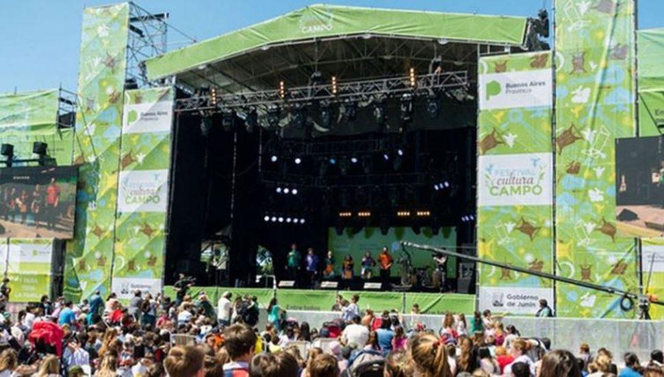 Jubilados linqueños podrán a participar del Festival Cultura Campo de Junín