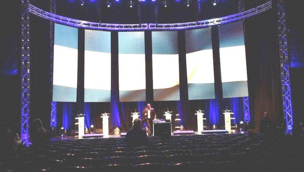 El debate de los candidatos a la  vicepresidencia es un acto democrático