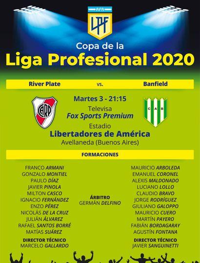 River debuta en la Copa de la Liga Profesional