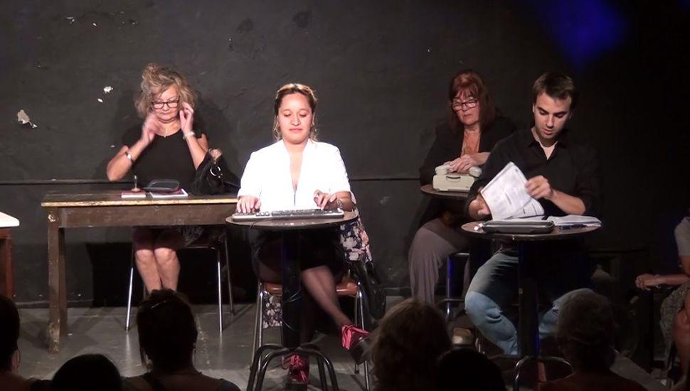 Se realizó en Rojas un taller de teatro de las personas oprimidas