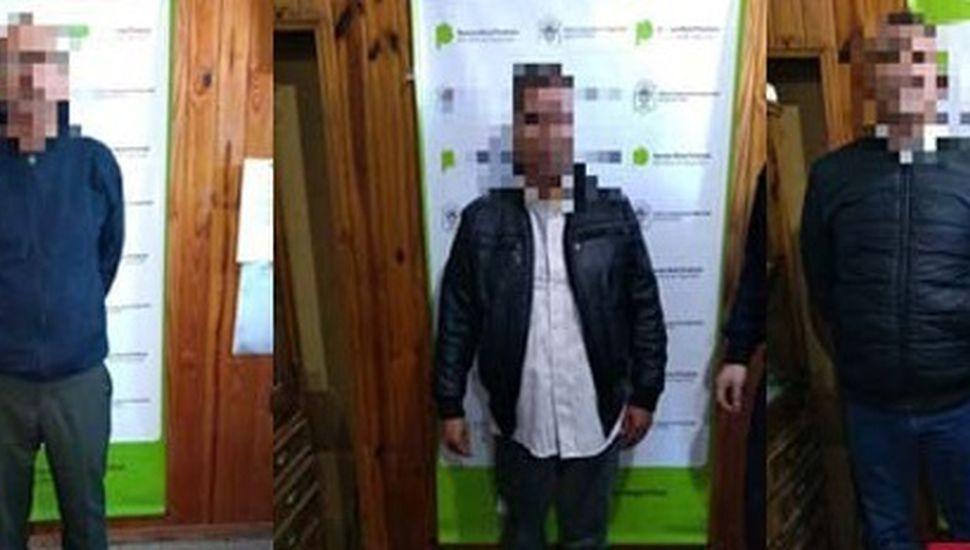 Tres extranjeros demorados por actitud sospechosa en el Banco Provincia