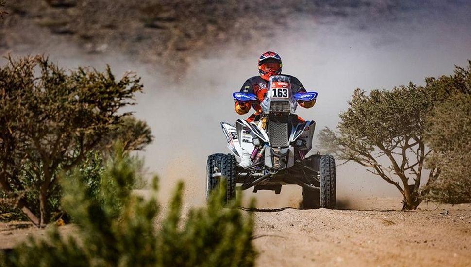 Dakar 2021: el argentino Pablo Copetti ganó una etapa en cuatriciclos