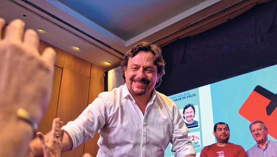 Gustavo Sáenz.