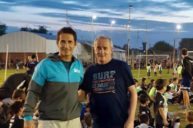 Juan Carlos Del Fueyo y Claudio Yópolo.