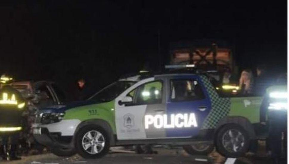 Choque fatal en ruta 188: tres muertos