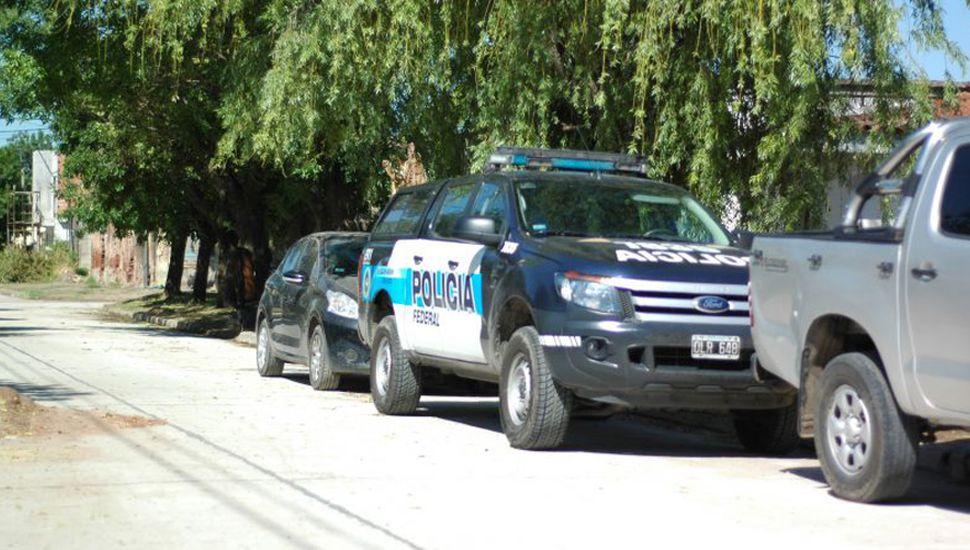 Tras nueve allanamientos, dos personas fueron aprehendidas.