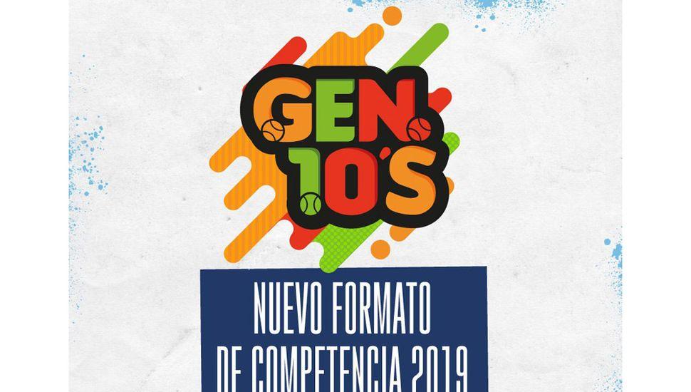 """Llega el programa  """"Gen10s"""" de tenis"""