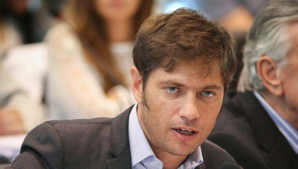 Axel Kicillof, candidato del Frente de Todos.