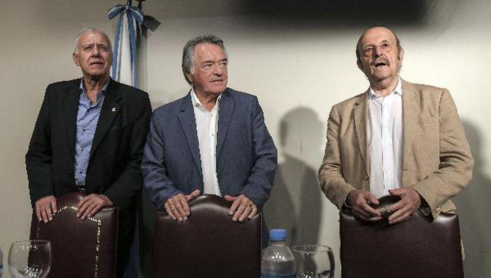 Luis Barrionuevo asumió como interventor del PJ