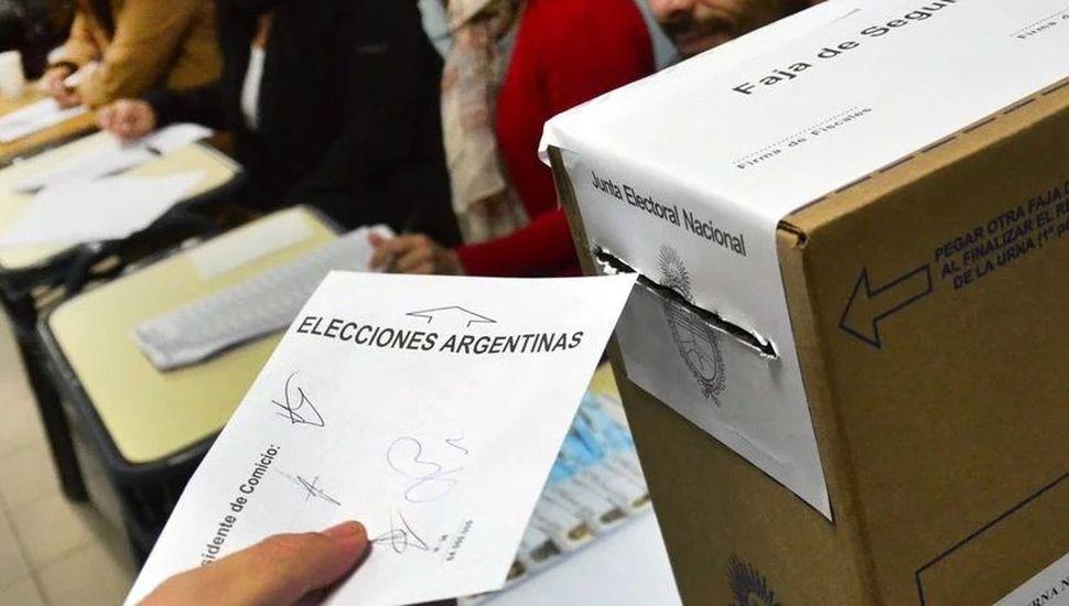 Dónde voto: chequea el padrón electoral de las elecciones presidenciales del domingo