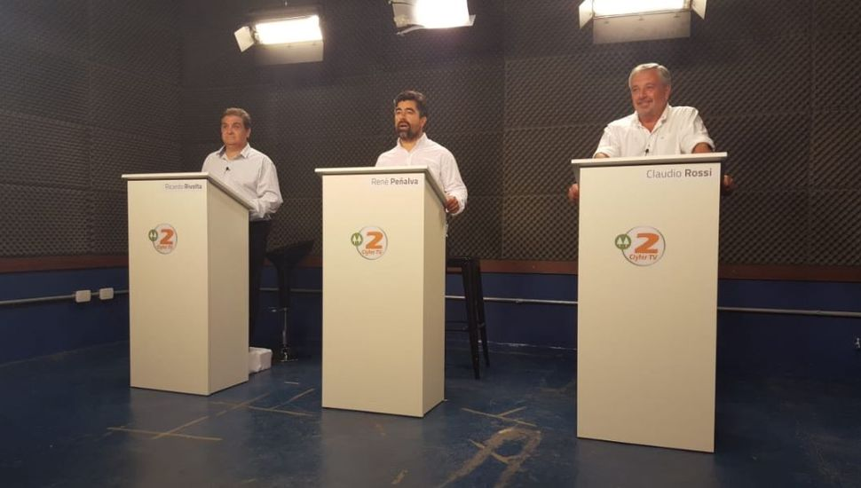 Debate en Rojas: qué prometió cada candidato en caso de ganar la intendencia