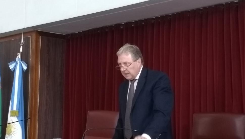 El juez Héctor Barbera dará a conocer la sentencia.