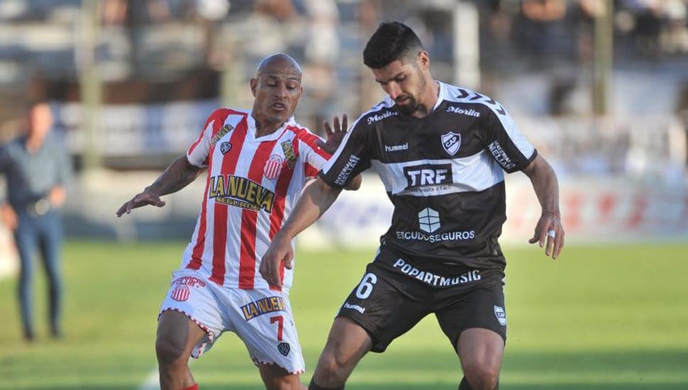 Clemente Rodríguez y Gastón Suso.
