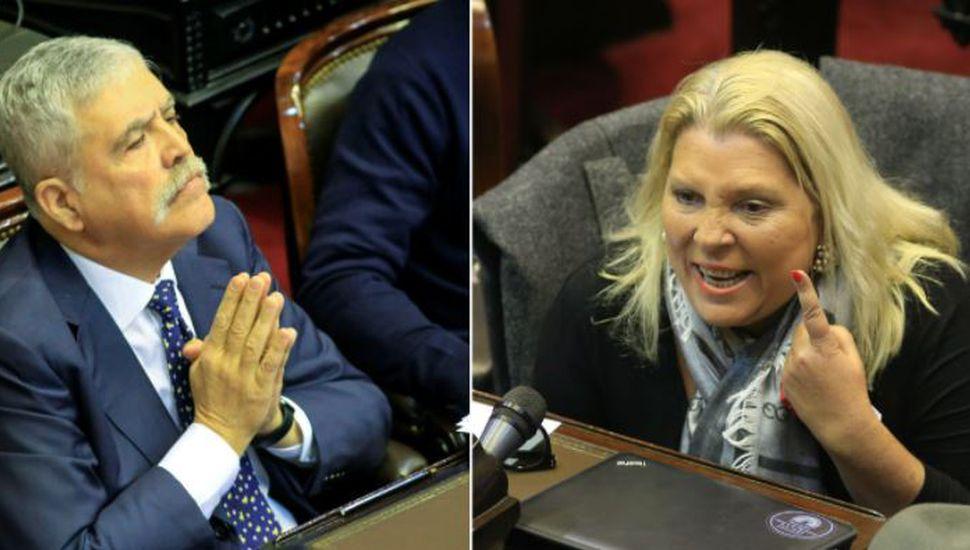 El insólito cruce de mensajes entre Julio De Vido y Elisa Carrió durante la detención del exfuncionario