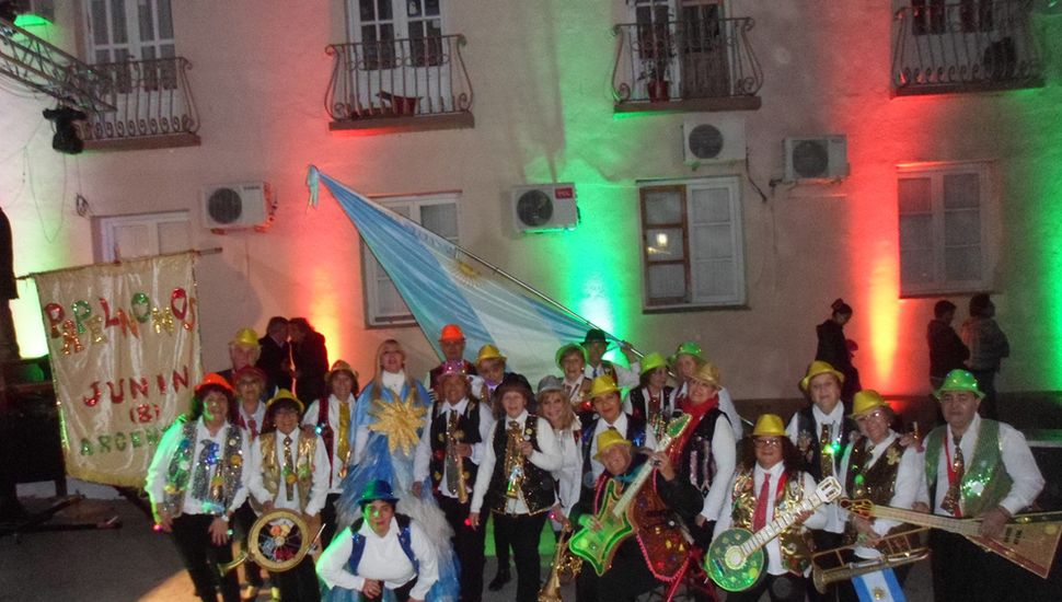 Delegación de Papelnonos Junín en Termas de Río Hondo.