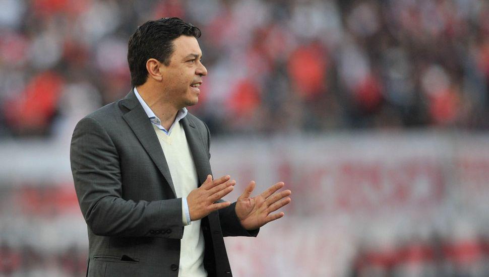Marcelo Gallardo se recupera de un cuadro de anginas.
