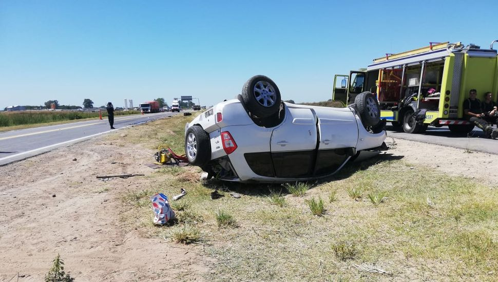 Accidente fatal en la Ruta 7: un muerto